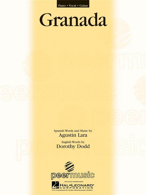 Lara, Agustin - Granada : Einzelausgabe