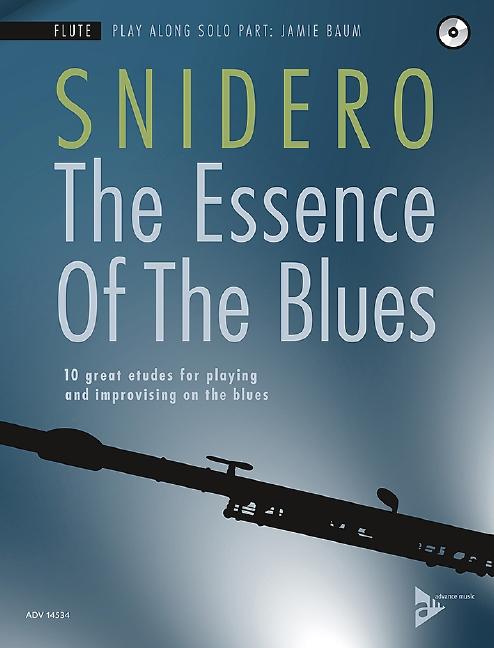 The Essence of the Blues (+CD): für Flöte (dt/en)