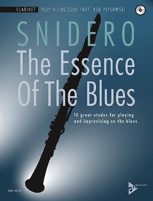 The Essence of the Blues (+CD): für Klarinette (dt/en)