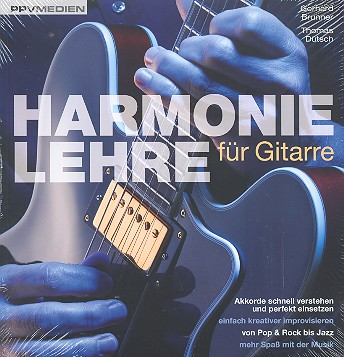 Brunner, Gerhard - Harmonielehre für Gitarre