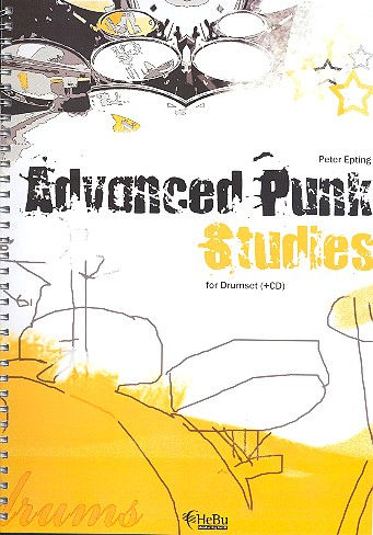 Advanced Punk Studies (+CD): for drumset