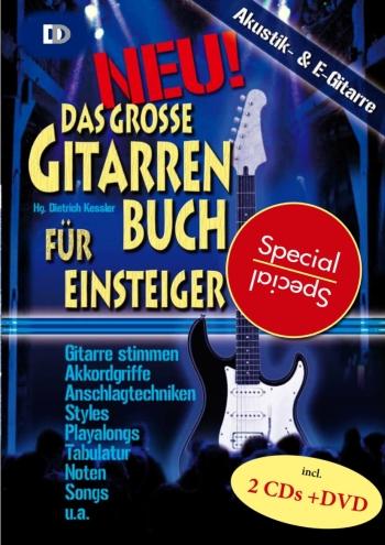 Das große Gitarrenbuch für Einsteiger spezial (+DVD +2 CD\