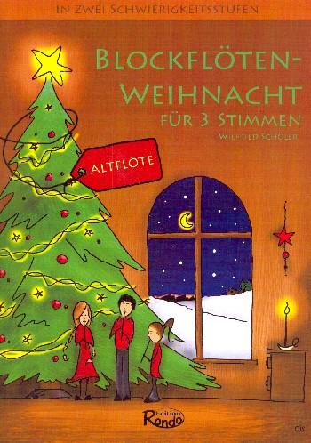 Blockflöten-Weihnacht: für 1-3 Altblockflöten