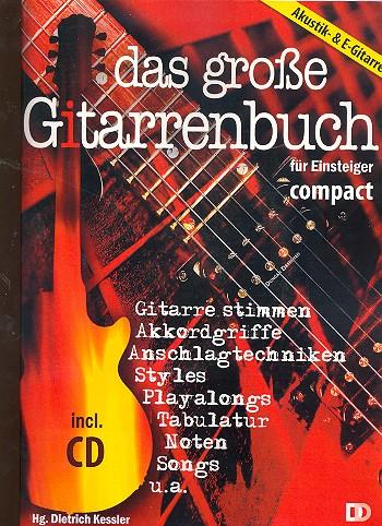 Das große Gitarrenbuch für Einsteiger compact (+CD)