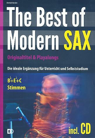 The Best of Modern Sax (+CD): für Saxophon