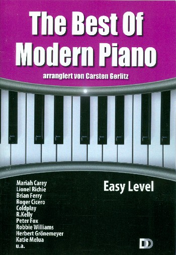The Best of Modern Piano - easy Level: für Klavier mit Texten und Akkorden