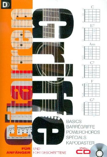 Gitarrengriffe für Anfänger und Fortgeschrittene (+CD)