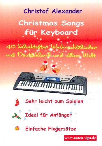Christmas Songs: for keyboard