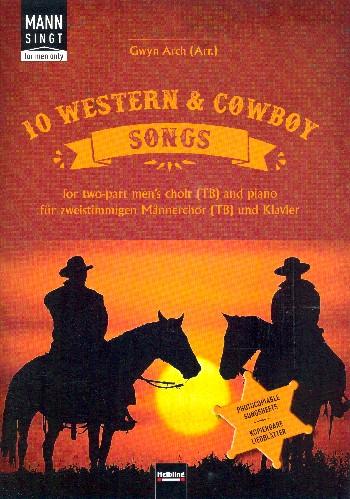 10 Western & Cowboy Songs : - Vollanzeige.
