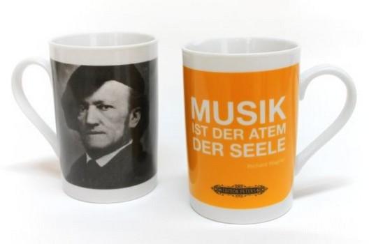 Kaffeebecher Wagner - Musik ist der Atem der Seele