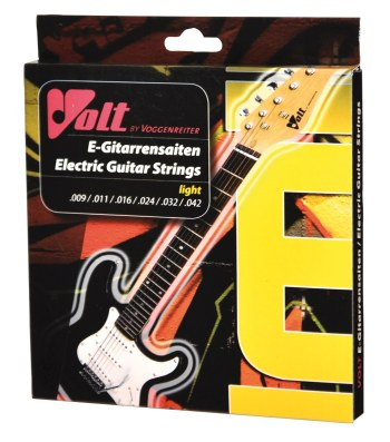 Gitarrensaiten Stahl light 009 (für E-Gitarre)