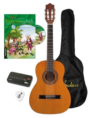 Little Amadeus Gitarrenset (3/4) (Schule+Gitarre+Zubehör)