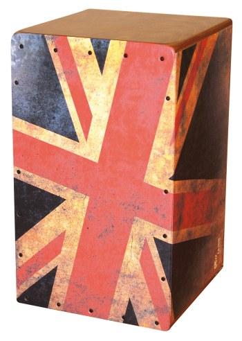 0950-9 Cool Cajon Union Jack Size L (29 x 30 x 48,5 cm)