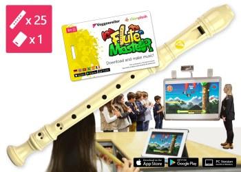 Blockflöten-Kiste Flute Master 1