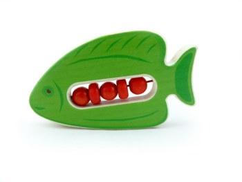 Klapper-Fisch Doki (grün)