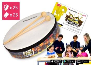 Trommel-Kiste Rhythmic Village 2