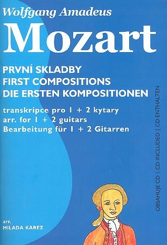 Die ersten Kompositionen (+CD): für 1-2 Gitarren (z.T. mit Tabulatur)