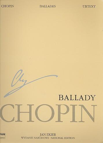Ballades opus.23, 38, 47, 52: for piano