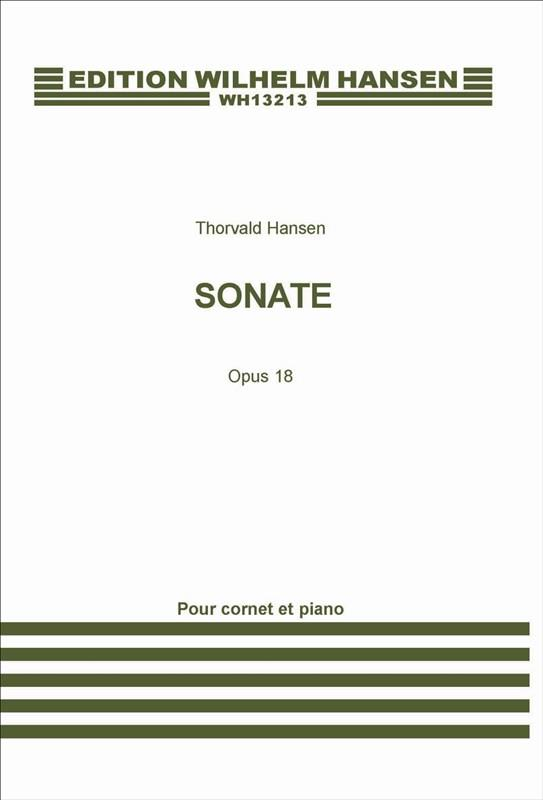 Sonata e flat major opus.18: for trumpet and piano