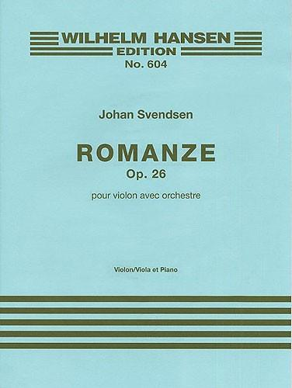 Svendsen, Johan Severin - Romance op.26 for violin and