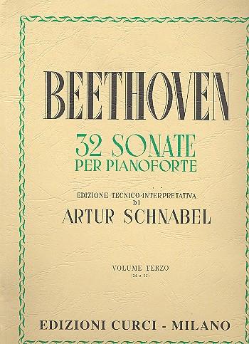 Beethoven, Ludwig van - 32 sonate vol.3 (nos.24-32) :