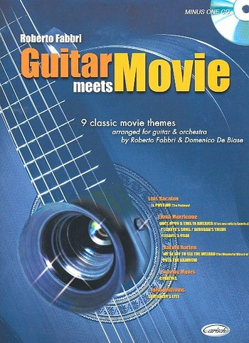 Guitar meets Movie (+CD): 9 classic movie themes