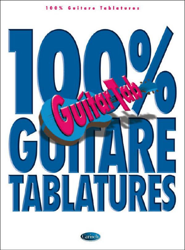 100% Guitar Tablatures vol.1 songbook vocal/guitar/tab (frz)