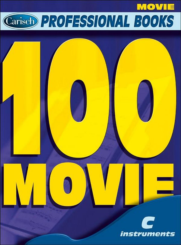 100 movie: for c instruments text, melody line and chord symbols