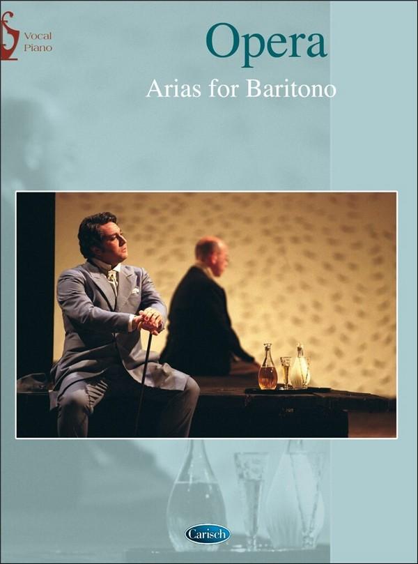 - Opera arias : für Bariton und Klavier (it)
