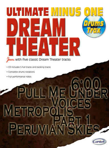 Dream Theater (+CD): for drums Ultimate Minus One Drums Trax