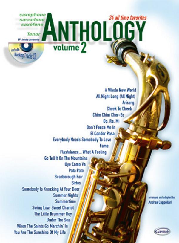 Anthology vol.2 (+CD): for tenor saxophone