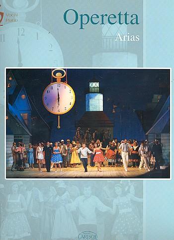 Operetta Arias Klavierauszug (it)