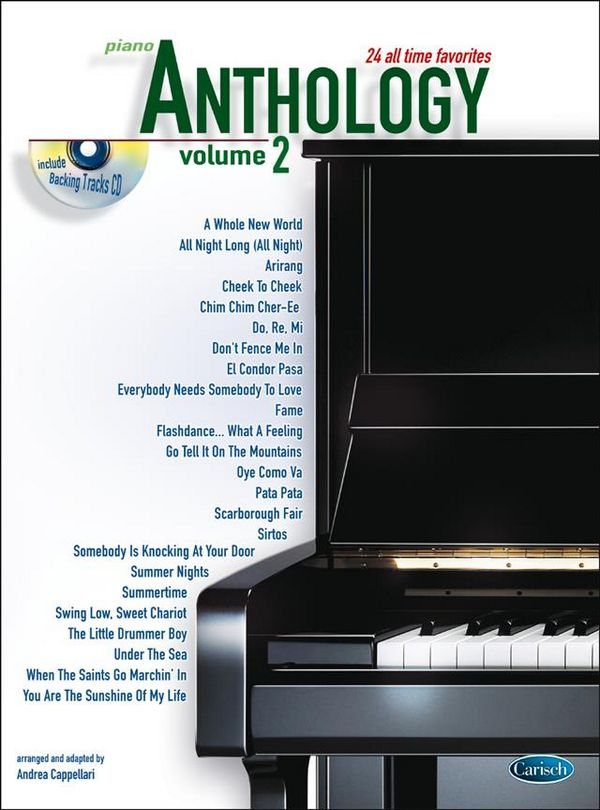 Anthology vol.2 (+CD): for piano