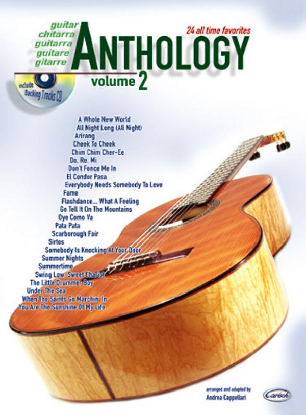Anthology vol.2 (+CD): for guitar
