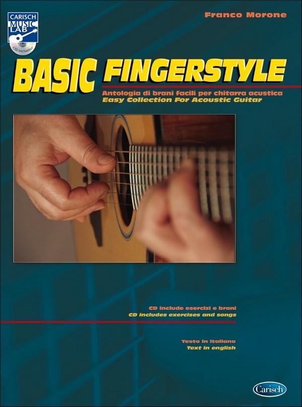 Basic Fingerstyle (+CD): for guitar/tab (en/it)