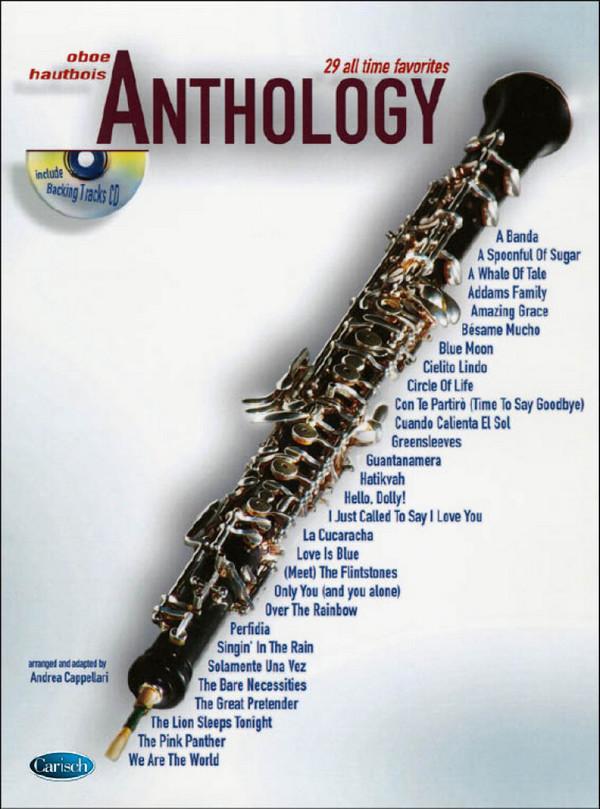 Anthology vol.1 (+CD): for oboe