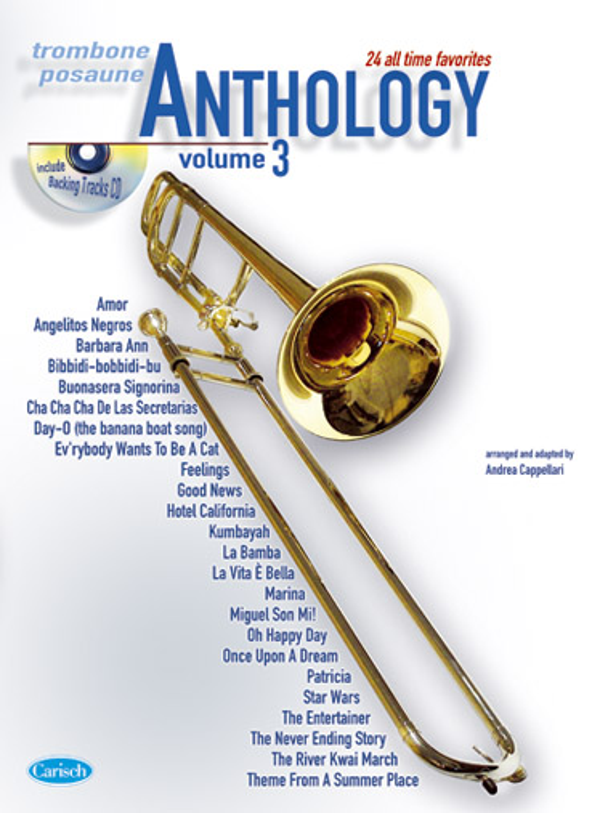 Anthology vol.3 (+CD): for trombone