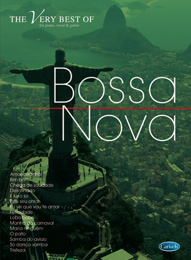 The very Best of Bossa nova songbook for piano/voice/guitar