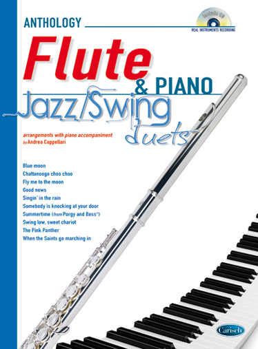 Jazz & Swing Duets (+CD): for flute and piano