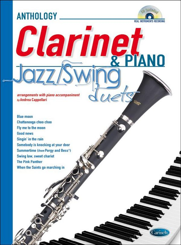 Jazz & Swing Duets (+CD): for clarinet and piano