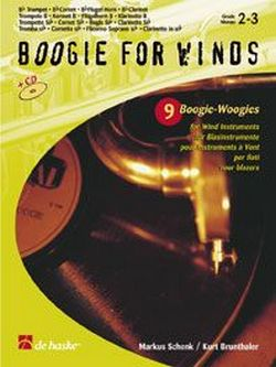 Boogie for Winds (+CD): 9 Boogie- Woogies for wind instruments in Bb