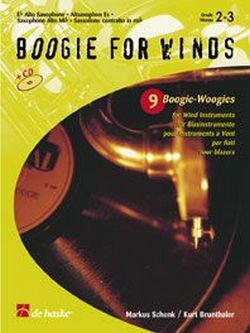 Boogie for winds (+ CD): 9 Boogie-Woogies for wind instruments