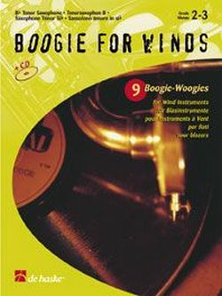 Boogie for Winds (+CD): 9 Boogie- Woogies for tenorsaxophone