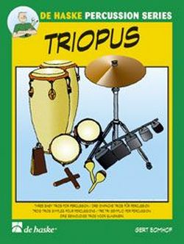 Triopus: 3 einfache Trios für Percussion