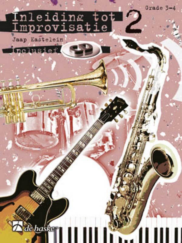 Inleiding tot improvisatie vol.2 (+CD) grade 2-3: voor instrumente in B (solsleutel) (nl)