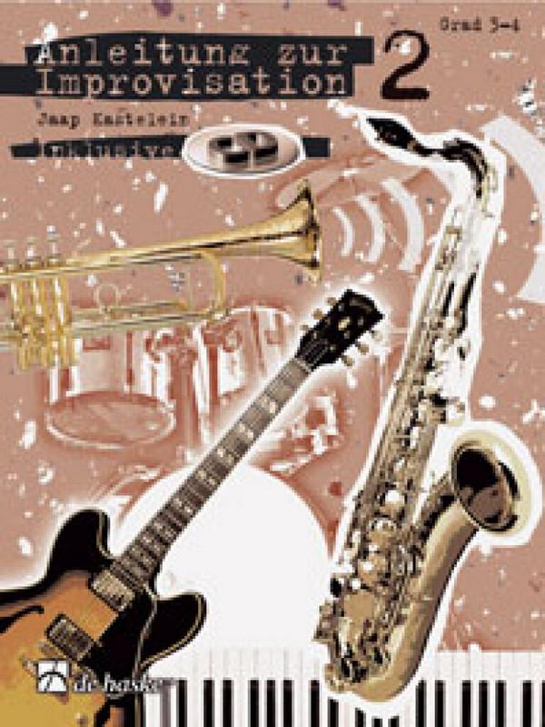 Anleitung zur Improvisation Band 2 (+CD): für B-Instrumente (Violinschlüssel)