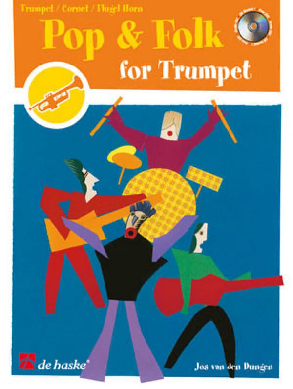 Pop and folk (+CD): for trumpet (Cornet, Flügelhorn)
