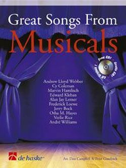 Great Songs from Musicals (+CD): for trombone/euphonium (bass + treble clef)