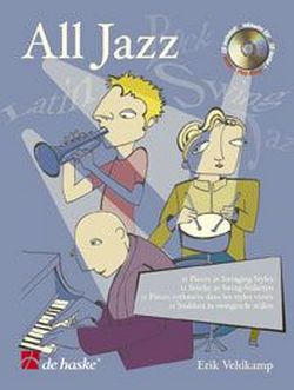 All Jazz (+CD): 11 Stücke in Swing-Stilarten für Alt- und Tenorsaxophone