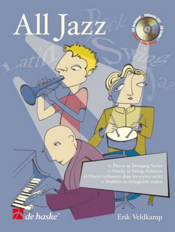 All Jazz (+CD): für Flöte 11 Stücke in Swing-Stilarten